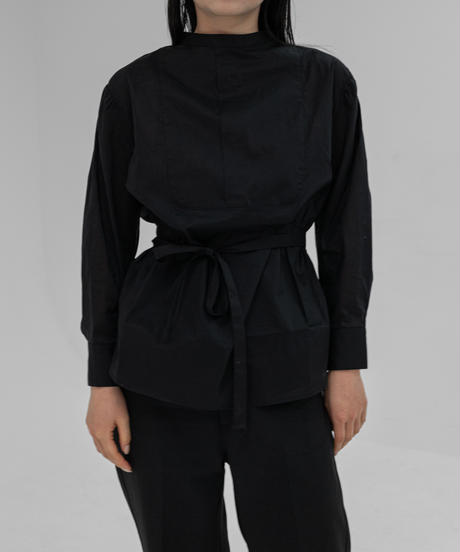 ドレスシャツ/BLACK
