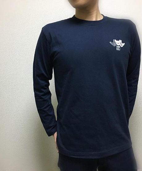税込★長袖 Tシャツ ( 110~XL ) D#フレブル三兄弟