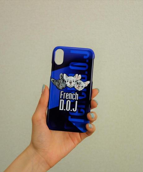 ☆即出荷可能☆送料&税込☆iPhone X/XS用スマホケース - D#FreBlue三兄弟