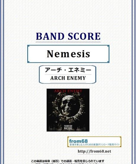アーチ・エネミー ( ARCH ENEMY ) / Nemesis (ネメシス)  バンド・スコア(TAB譜)  楽譜