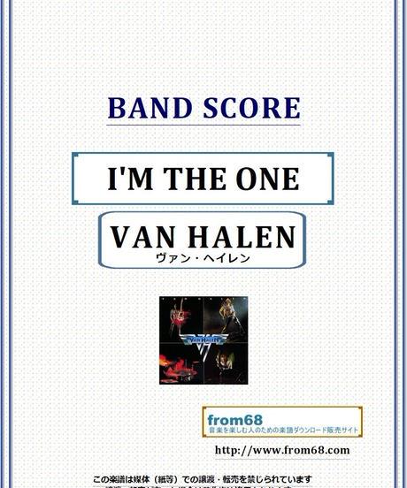 ヴァン・ヘイレン(VAN HALEN) / I'M THE ONE バンド・スコア(TAB譜) 楽譜 from68