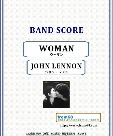 ジョン・レノン(JOHN LENNON) / WOMAN(ウーマン) バンド・スコア(TAB譜) 楽譜 from68