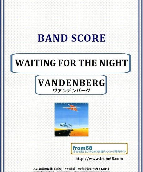 ヴァンデンバーグ(VANDENBERG)  / WAITING FOR THE NIGHT バンド・スコア(TAB譜) 楽譜 from68