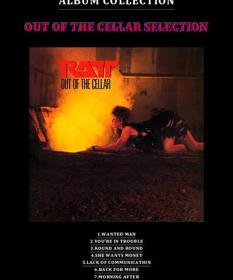 【9曲SET】RATT(ラット) / OUT OF THE CELLAR SELECTION バンドスコア from68