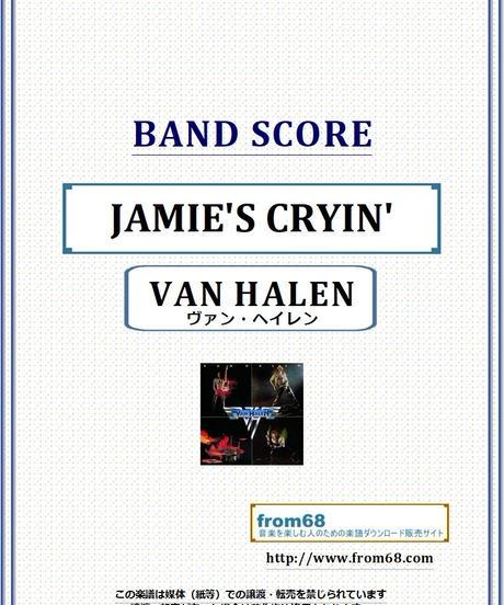 ヴァン・ヘイレン(VAN HALEN) / JAMIE'S CRYIN' バンド・スコア(TAB譜) 楽譜 from68
