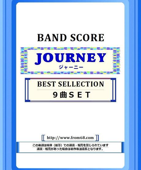【9曲SET】ジャーニー (JOURNEY)  BEST SELLECTION バンド・スコア(TAB譜) 楽譜