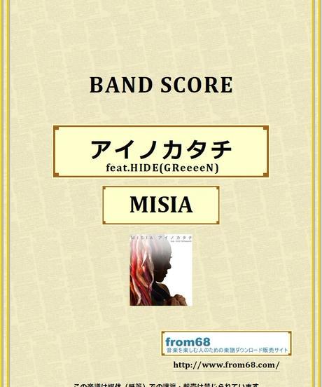 MISIA(ミーシャ) / アイノカタチ feat.HIDE(GReeeeN) バンド・スコア(TAB譜) 楽譜 from68