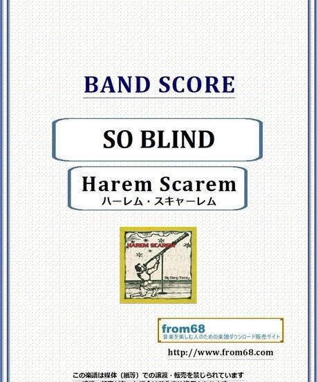 ハーレム・スキャーレム(Harem Scarem) / SO BLIND  バンド・スコア (TAB譜) 楽譜