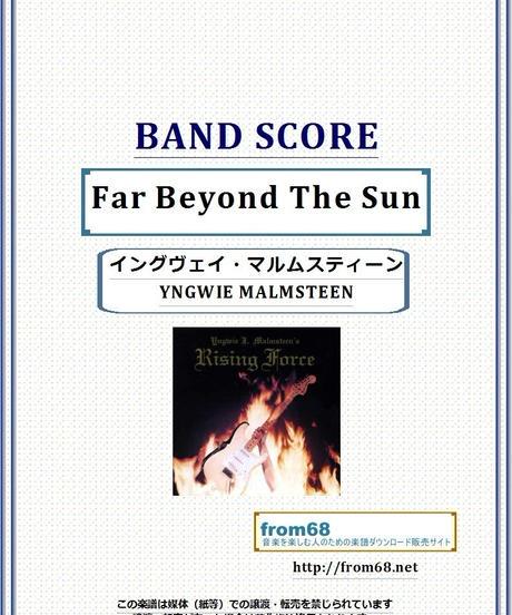 Far Beyond The Sun  / イングヴェイ・マルムスティーン(YNGWIE MALMSTEEN)  バンド・スコア(TAB譜)  楽譜