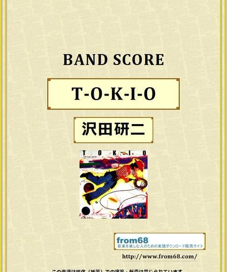 沢田研二  /  TOKIO  バンド・スコア (TAB譜)  楽譜