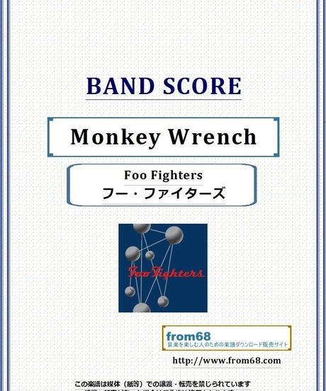 フー・ファイターズ(Foo Fighters) / Monkey Wrench バンド・スコア(TAB譜) 楽譜