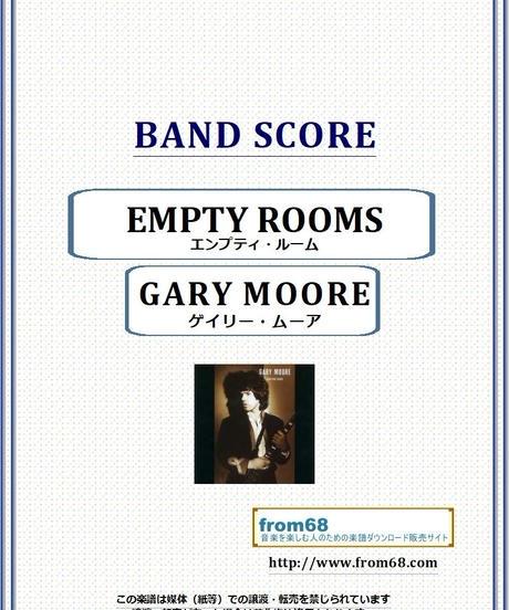 ゲイリー・ムーア (GARY MOORE) / エンプティ・ルーム(EMPTY ROOMS)  バンド・スコア (TAB譜) 楽譜