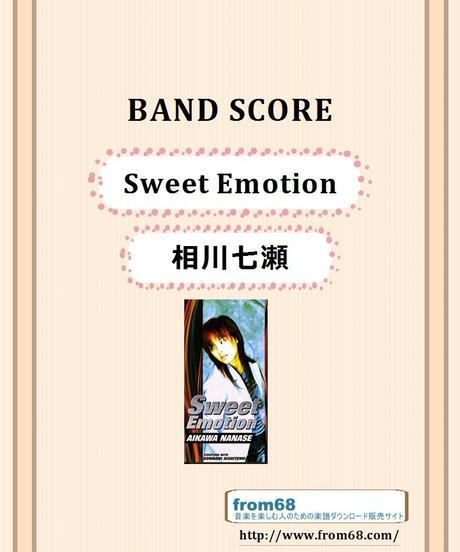 相川七瀬 / Sweet Emotion バンド・スコア (TAB譜)  楽譜