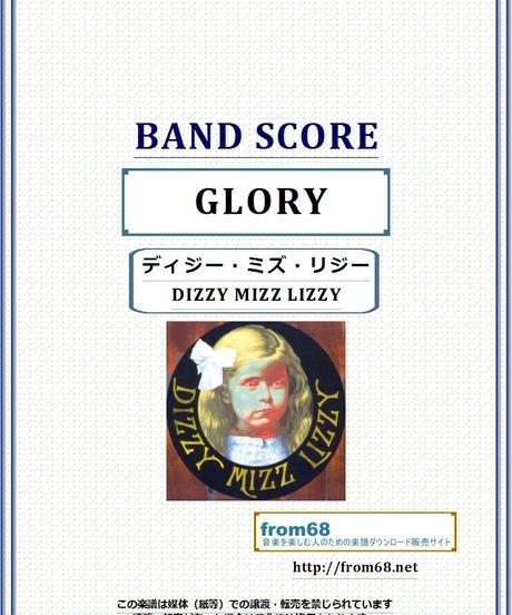 ディジー・ミズ・リジー (DIZZY MIZZ LIZZY) / グローリー(GLORY)バンド・スコア(TAB譜) 楽譜