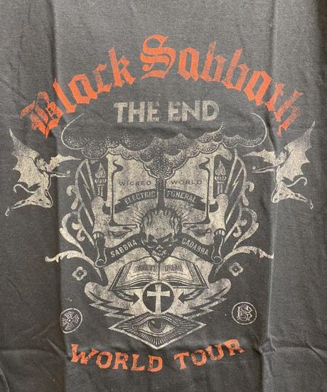 BLACK SABBATH : the end reading skull (for unisex t shirts) 【HV00-T07-02-S~L】