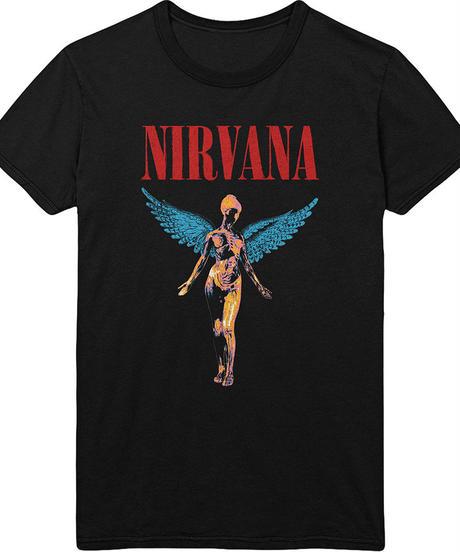 NIRVANA: Angelic (ユニセックス バンドTシャツ) 【HV02-T11-01-S~XL】