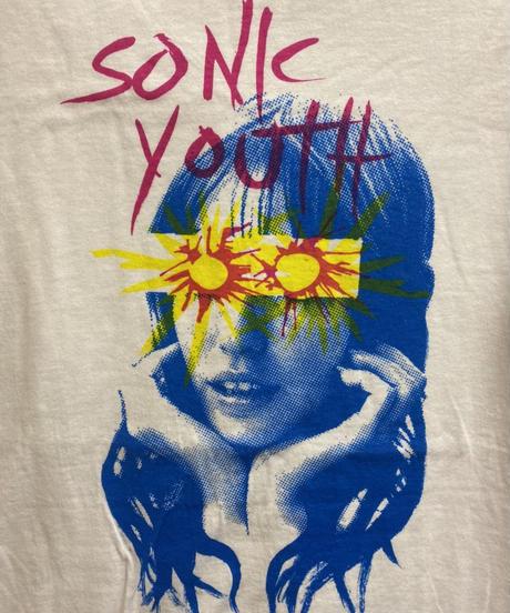 SONIC YOUTH : sunburst (ユニセックス バンドTシャツ)   【HV01-T04-07-S~XL】