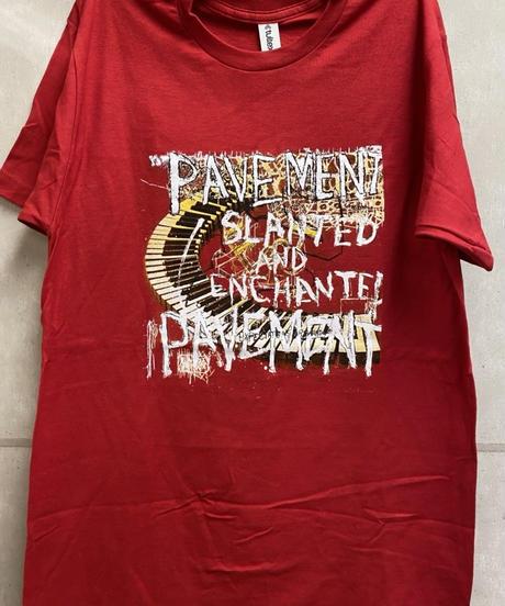 PAVEMENT : slanted and enchanted  (ユニセックス バンドTシャツ) 【HV01-T03-03-S~XL】