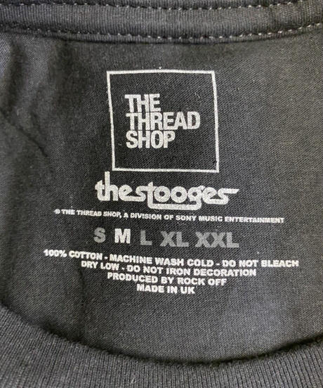 IGGY & THE STOOGES: Raw (ユニセックス バンドTシャツ) 【HV02-T13-02-S~XL】
