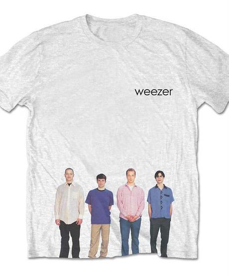WEEZER: Blue Album (ユニセックス バンドTシャツ) 【HV02-T15-01-S~XL】