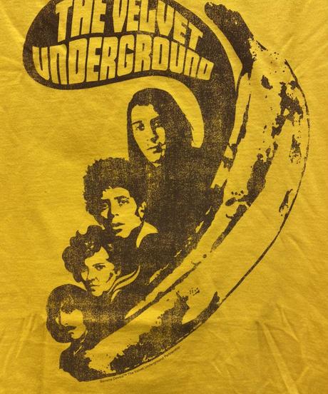 THE VELVET UNDERGROUND : VU Says (ユニセックス バンドTシャツ)【HV03-T01-03-S~XL】