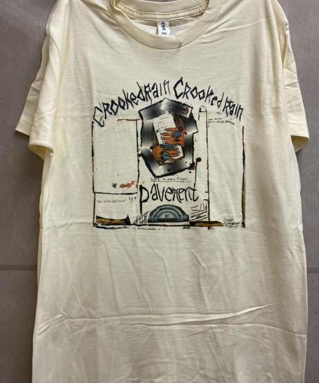 PAVEMENT : crooked rain  (ユニセックス バンドTシャツ) 【HV01-T03-01-S~XL】