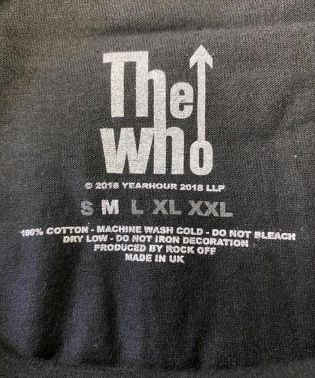 THE WHO: Quadrophenia Classic (ユニセックス バンドTシャツ) 【HV02-T16-01-S~XL】