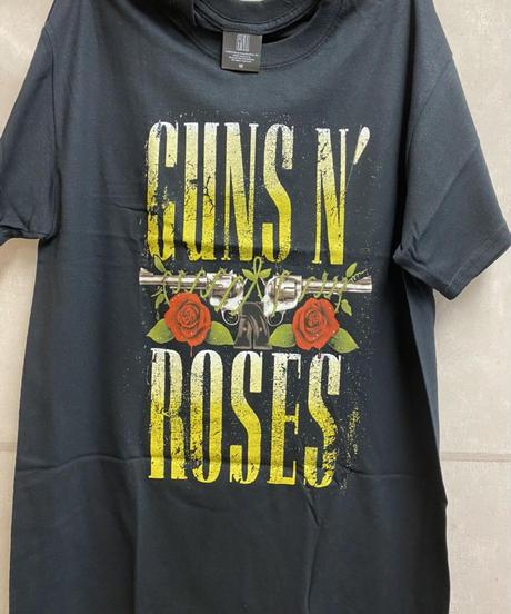 GUNS N' ROSES : big guns (for unisex t shirts)【HV00-T08-04-S~L】