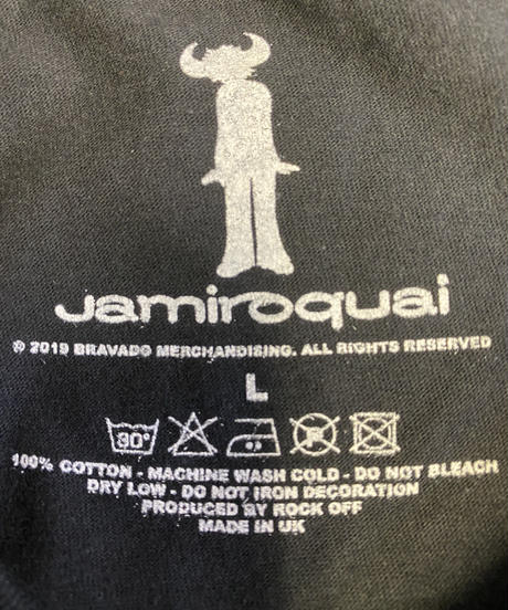 JAMIROQUAI : buffalo gradient (ユニセックス バンドTシャツ) 【HV02-T03-01-S~XL】