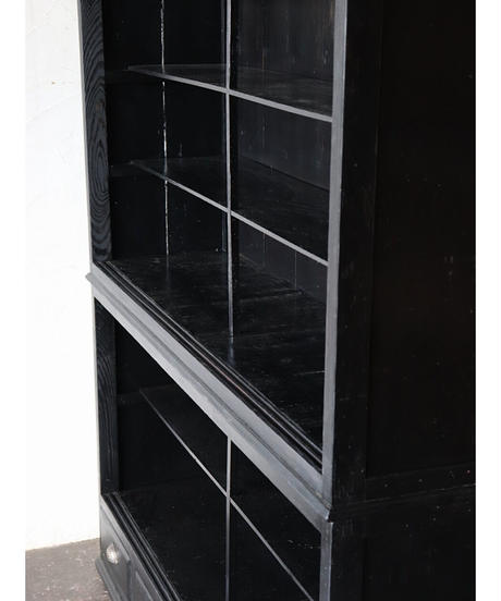 ガラス戸棚 大 / 黒