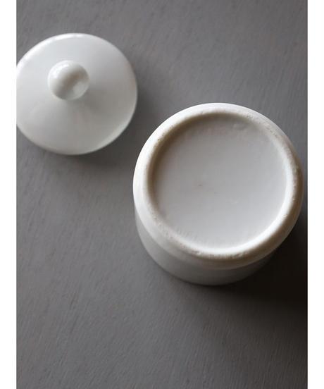 白磁 蓋付ケース 2個セット