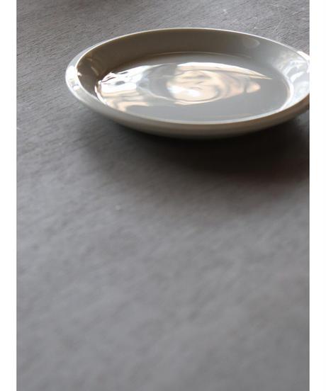 白磁 厚皿 φ155 2枚セット