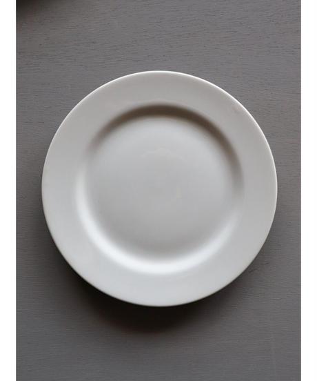 白磁 リム皿 φ210 2枚セット