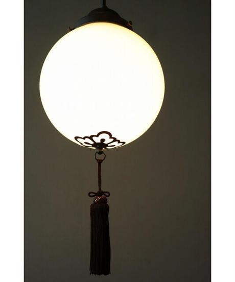 照明 丸グローブ 花弁房飾り 在庫4