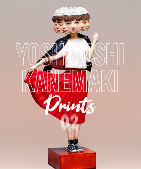 【Artist Proof: Limited 10 copies】 Yoshitoshi Kanemaki Prints | Caprice Papyrus 02