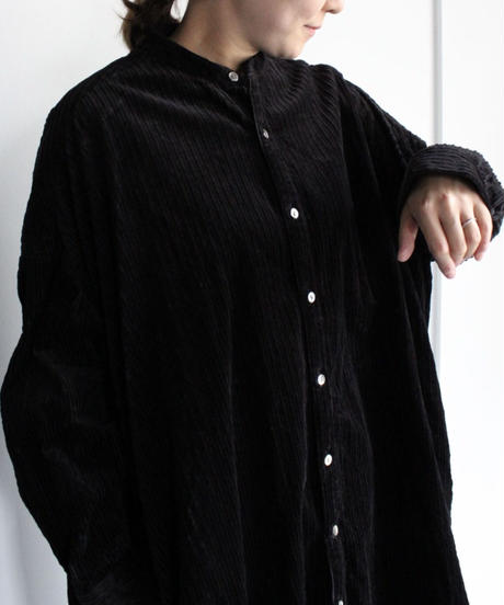 UT210OP031 コーデュロイ ロングシャツ