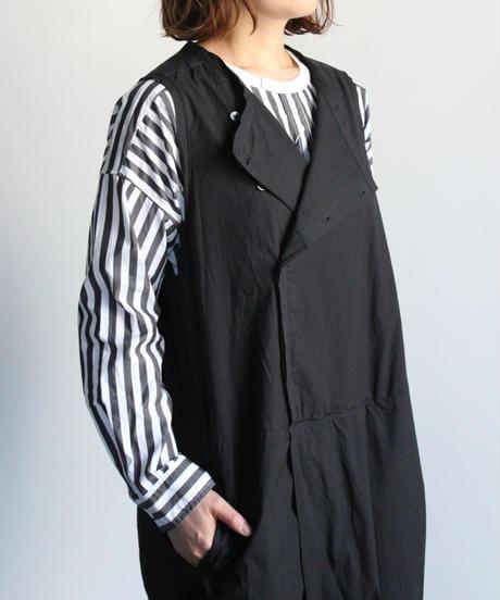 UT201SH040 バーバーストライプ ワーキングシャツ