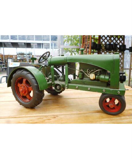 ブリキ車緑
