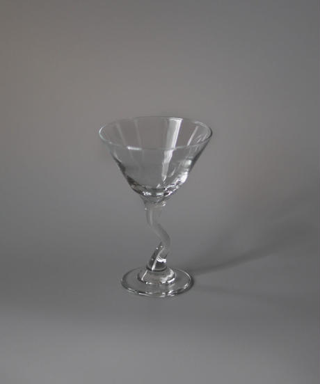 80's Cocktail art glass