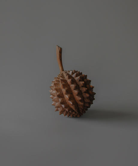 Wooden durian object