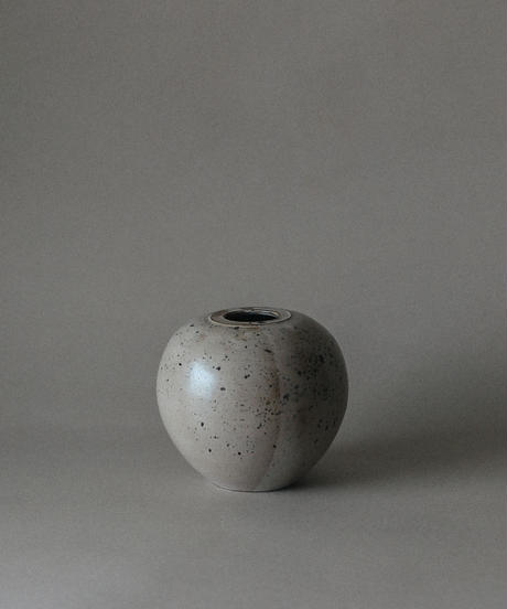 60's Ball shaped studio ceramic vase