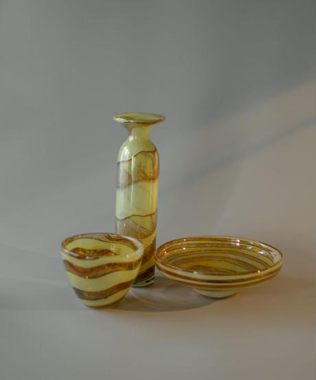Vintage Mtarfa glass bowl