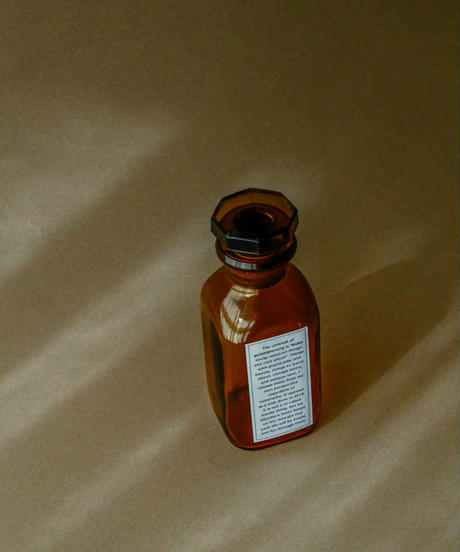 France old medicine bottle.