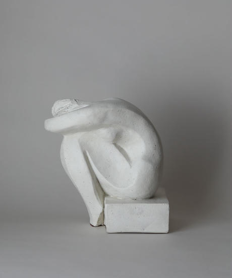 David Fisher / 1980's Woman Sculpture