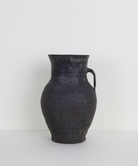 1930' Black Clay antique jug