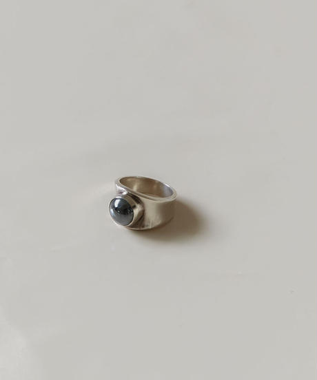 Georg Jensen /  Hematite ring