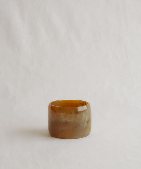 Buffalo horn marble bangle