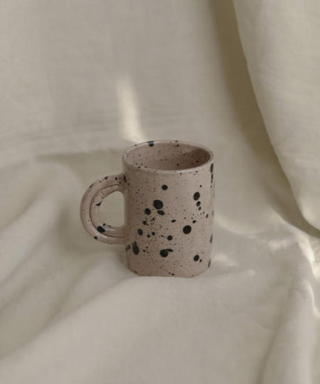 Large speckled mug
