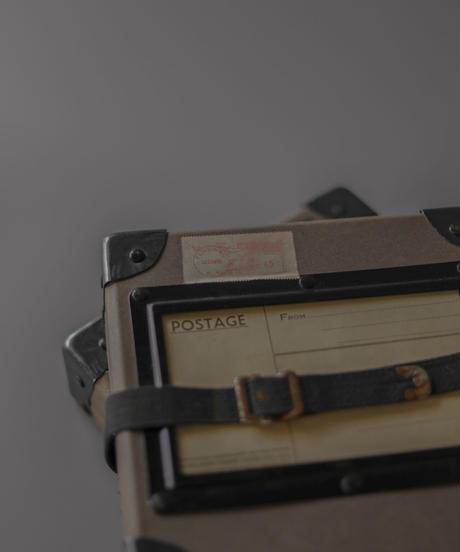 Vintage Postman letter case