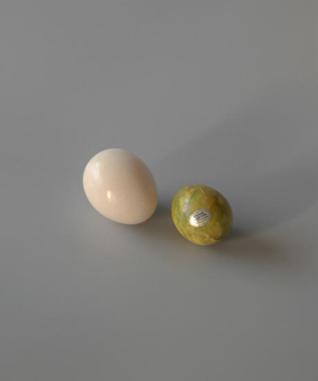 Italian marble stone mini egg